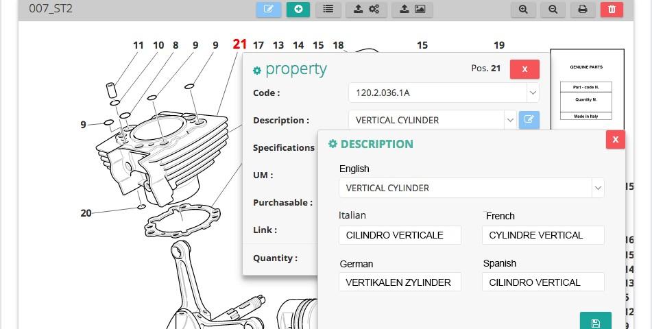 Create Interactive Spare Parts catalogues - InteractiveSpares.com