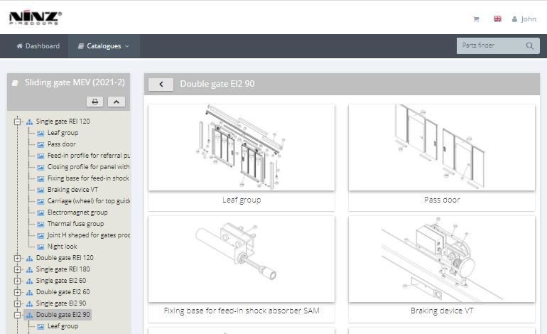 spare parts software Ninz04 - InteractiveSPares.com