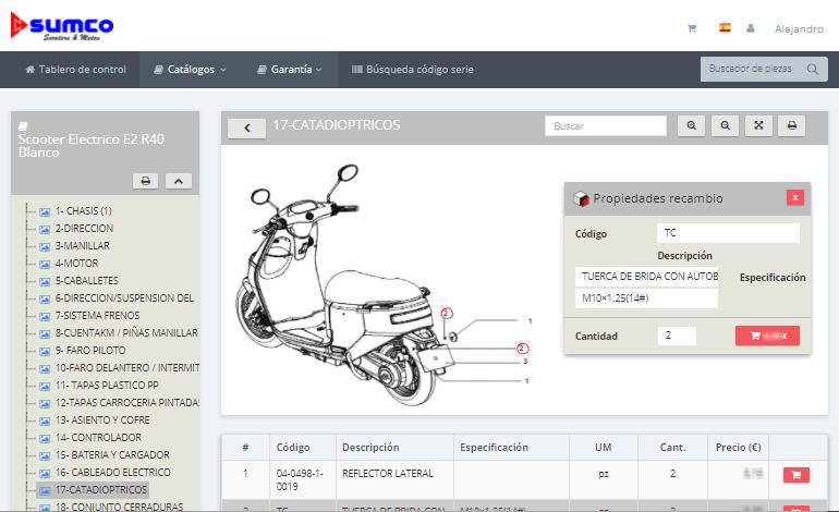 spare partssoftware Sumco02 - InteractiveSPares.com