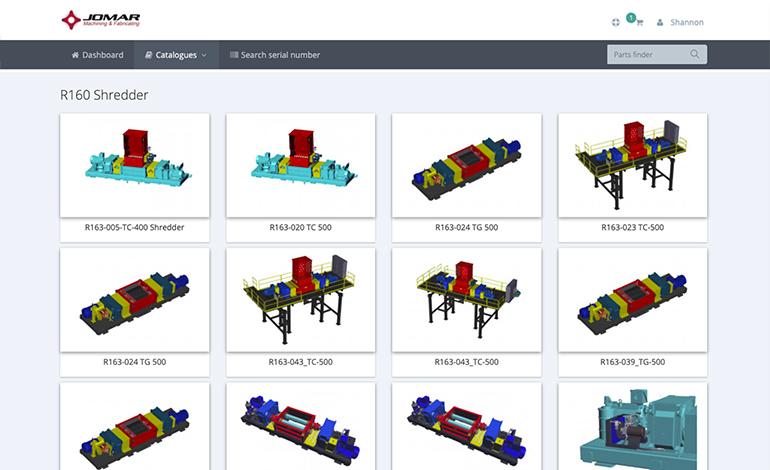 Parts ecommerce software - InteractiveSPares.com