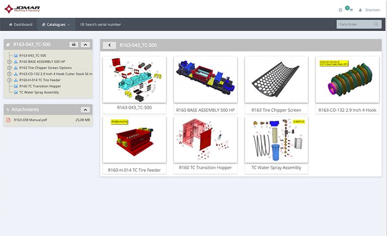 Parts ecommerce software 01 - InteractiveSPares.com